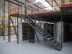 Factory mezzanine floor racking plaforms for warehouse