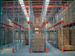 Warehouse new design steel drive through storege pallet racking system