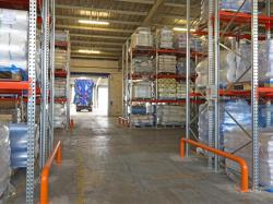 Galvanized dexion drive in pallet racking system