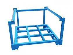 Heavy duty portable steel stacking racks for sale