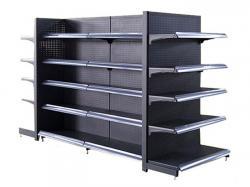 Supermarket gondola display shelving systems manufacturers