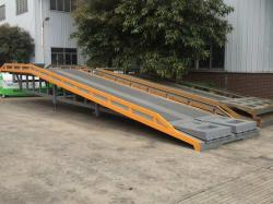 Mobile Loading Container Dock Level Ramps