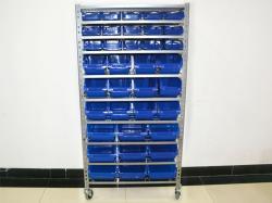 Light Duty Steel Boltless Rivet Garage Storage Shelving System