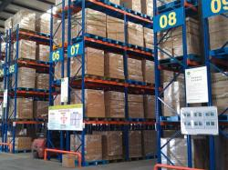 Selective Pallet Racking Steel Storage Shelving