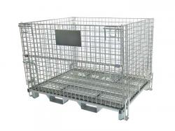 Warehouse Steel Wire Mesh Container Cages
