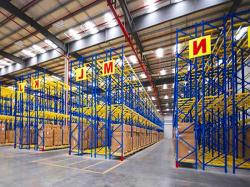 Warehouse Steel Double Deep Pallet Racking Rystem Design