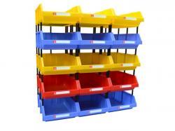 Walmart Stackable Plastic Storage Bin